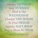Your bFIT Week